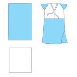 Комплект одягу та покриттів операційних акушерський № 30 стерильний