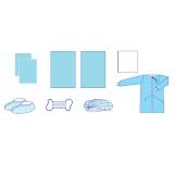 Комплект одягу та покриттів операційних акушерський № 28 стерильний