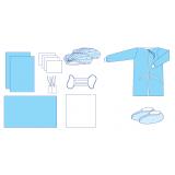 Комплект одягу та покриттів операційних акушерський № 29 стерильний
