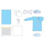 Комплект одягу та покриттів операційних акушерський № 31 стерильний