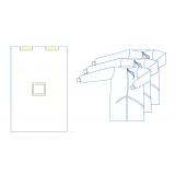 Комплект одягу та покриттів операційних  для гінекологічних операцій  №4 стерильний